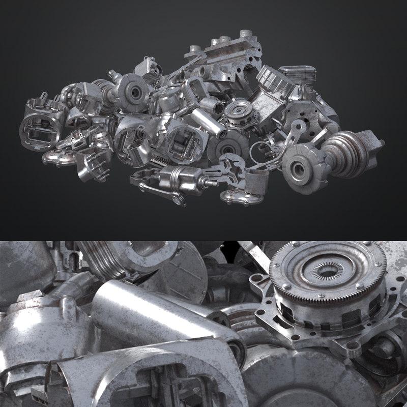 pile junkyard 3D