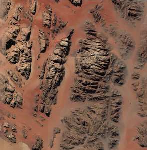 mesh ramm mountain israel 3D model