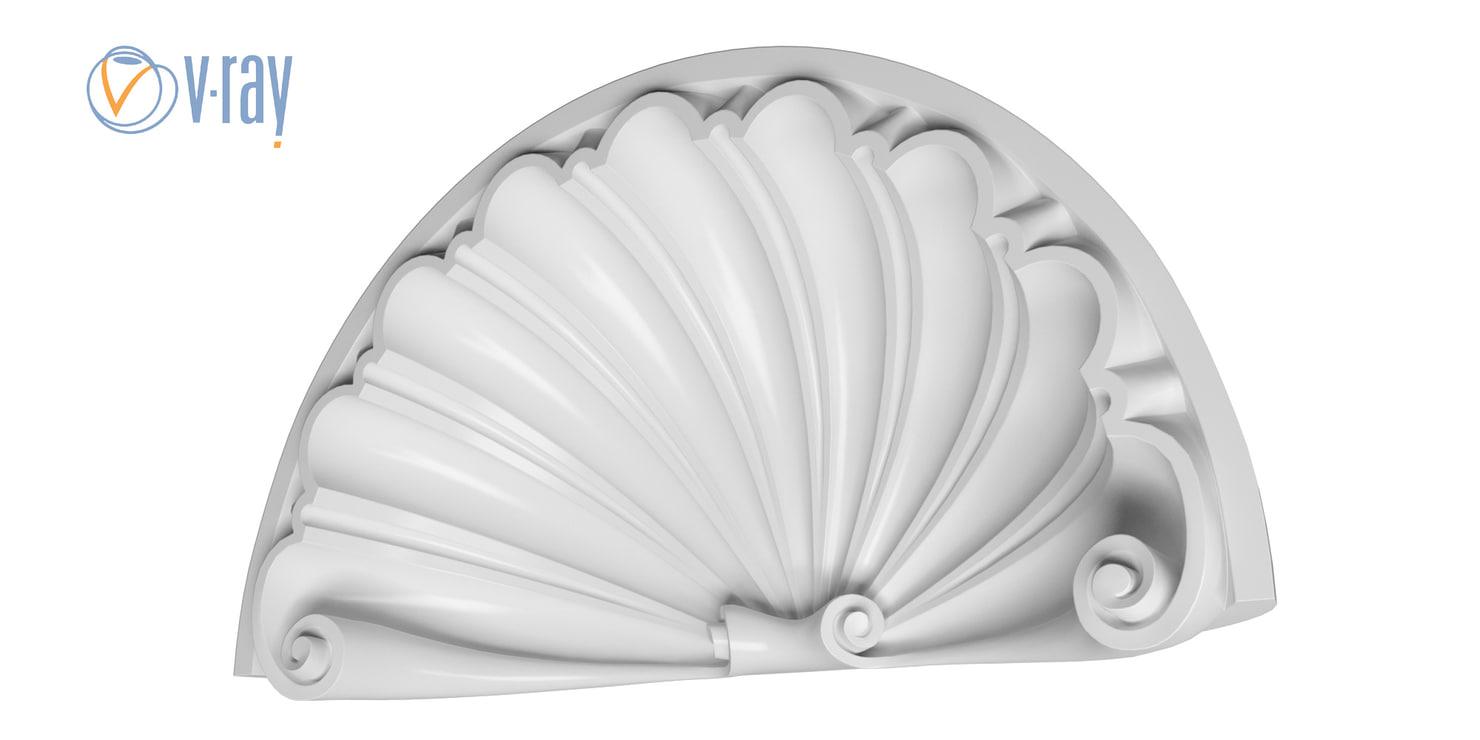 gypsum baroque 3D
