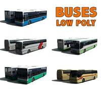 5 buses bus model