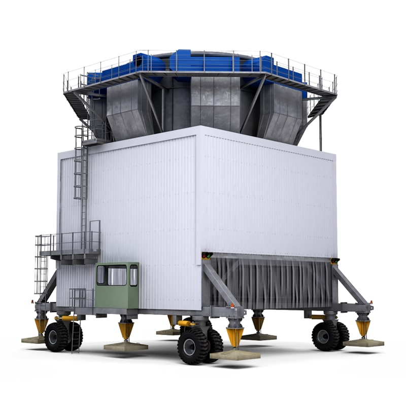 mobile bulk cargo 3D