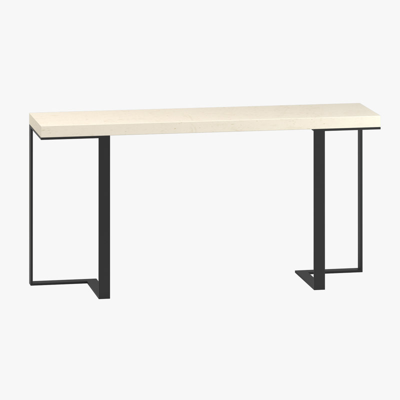 nitzan home angoli console table model