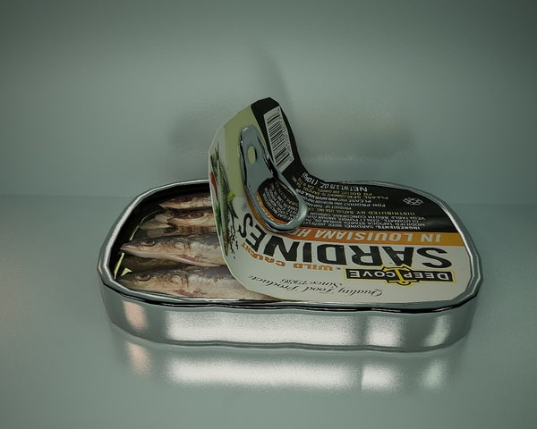 sardine 3D model