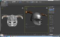 helmet viking model
