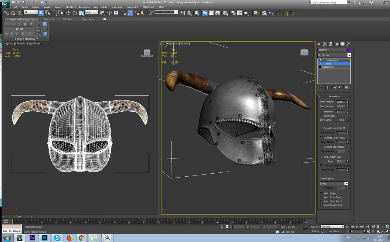 helmet viking model