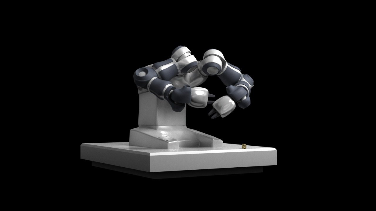 3D model robot yumi