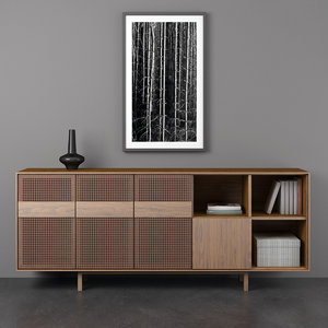 3D teak sideboards 60ies