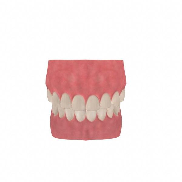 mouth polys model