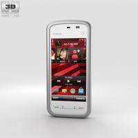 nokia 5230 white 3D