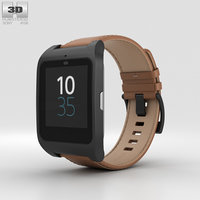 3D sony smartwatch smart