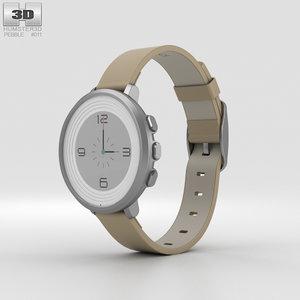 3D pebble time