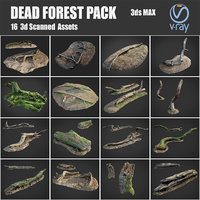 dead forest asset pack