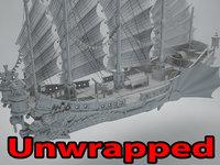 Asian ship