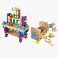 3D model baby building kits