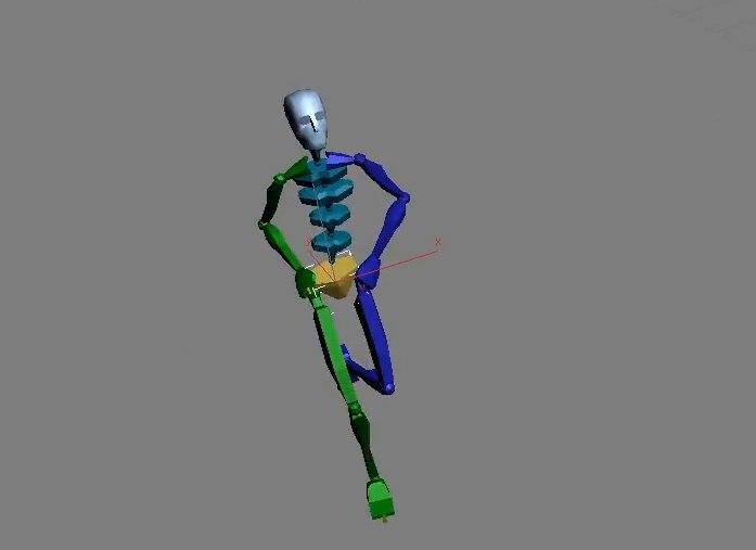3D model preset biped files