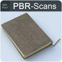 3D notebook book