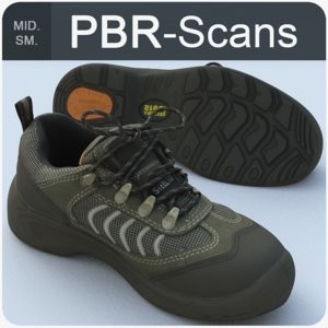 3D sneaker scans