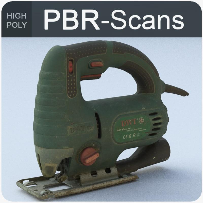 3D jig-saw scans polygonal
