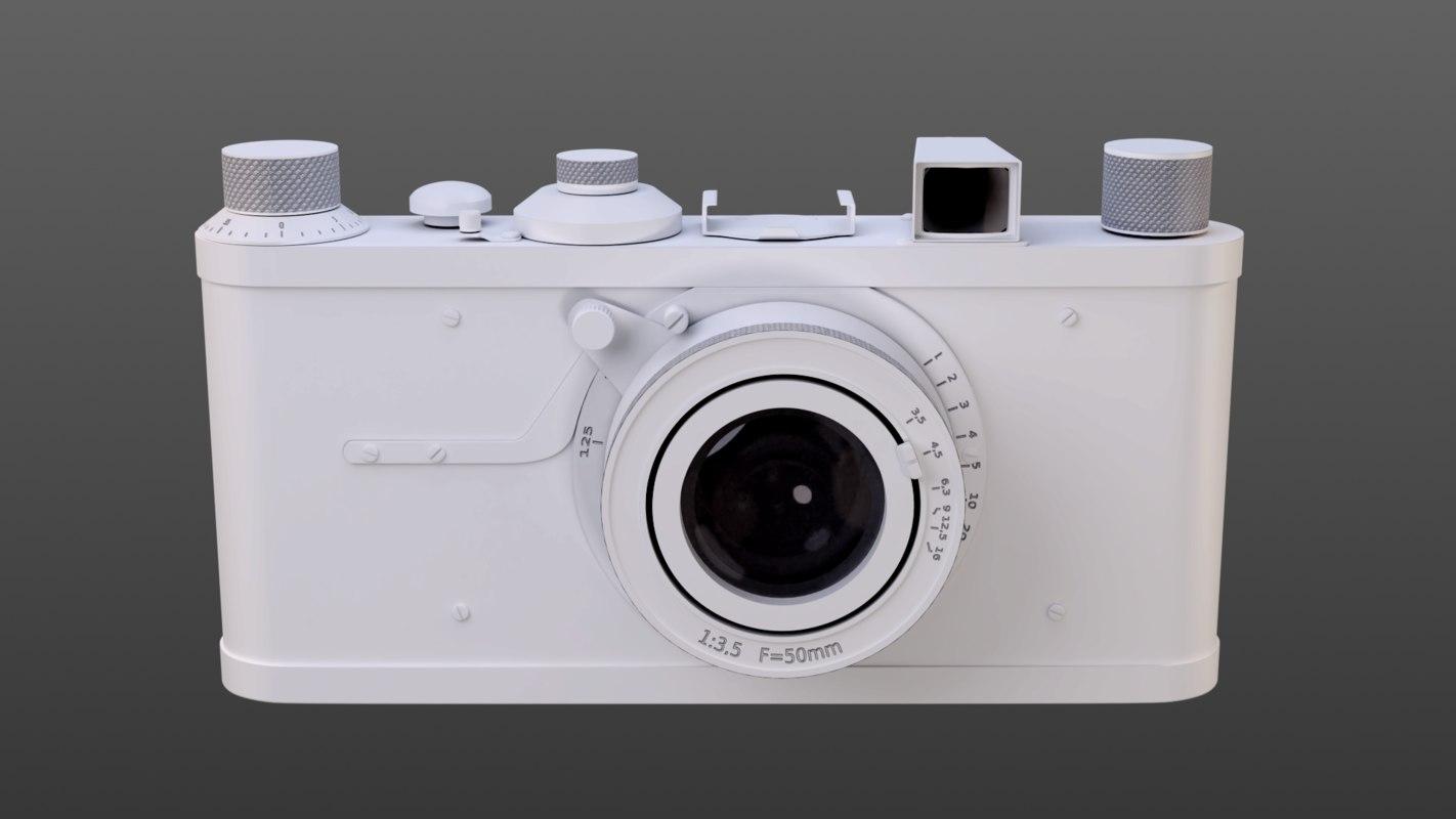3D antique camera model