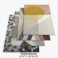 boconcept rugs 22 3D