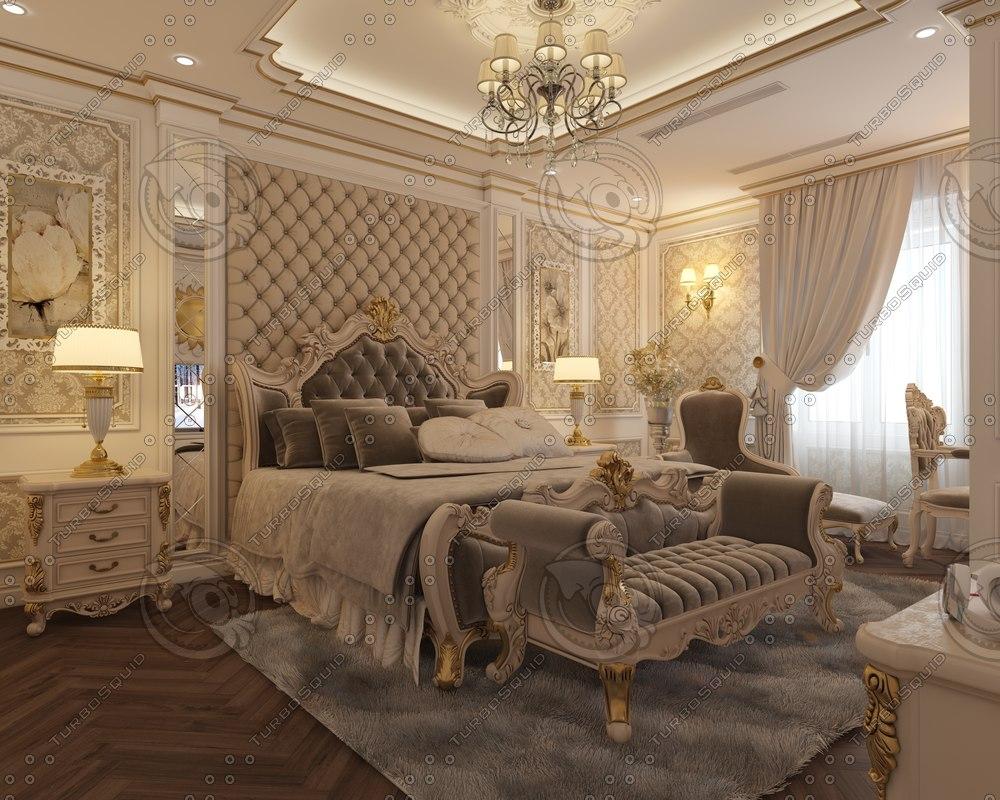 apartment luxury interior 3D model