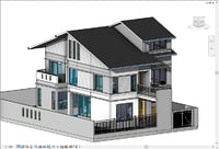 house drawings 3D model
