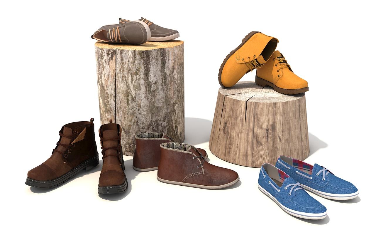 shoes men 3D