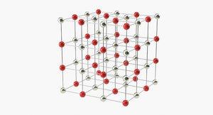 3D molecule salt