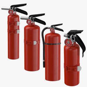 extinguishers 3D