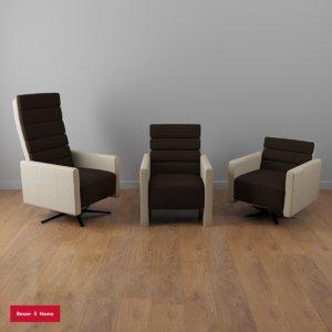 3D positano chairs