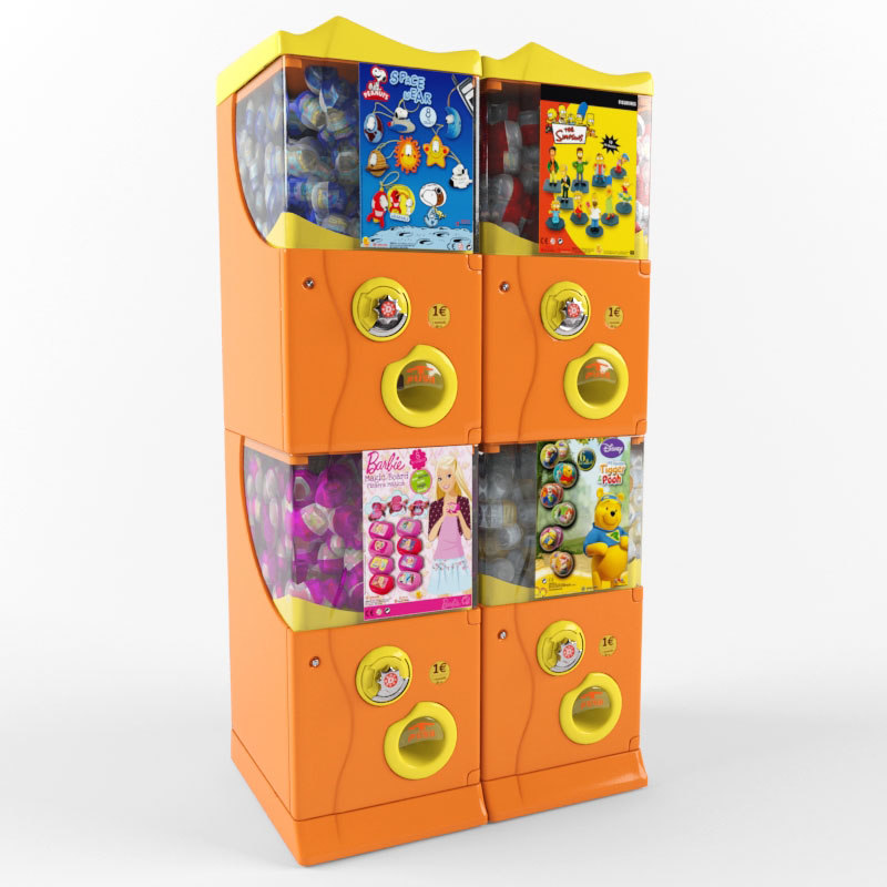 vending machine 3D model