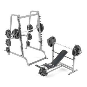 3D bar smith weight