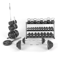 dumbbells weights 3D model