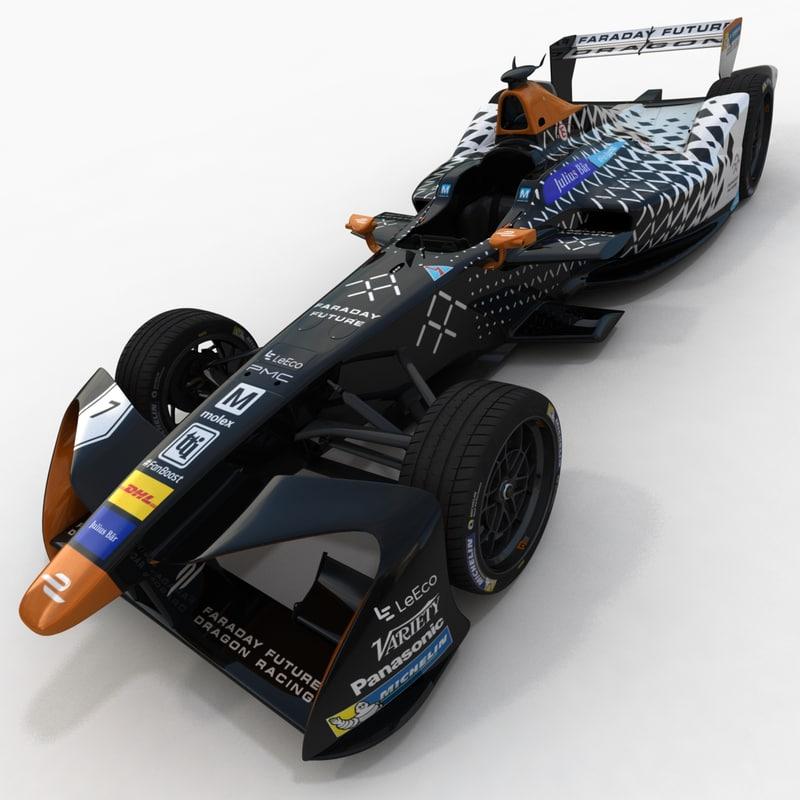 season 3 dragon racing 3D model