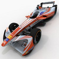 season 3 mahindra formula 3D model