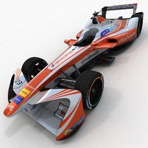season 3 mahindra formula 3D model