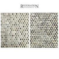 3D model restoration rugs cowhide link
