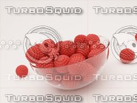 3D bowl mulberries