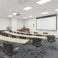 Photorealistic Classroom Architecture 006 V3