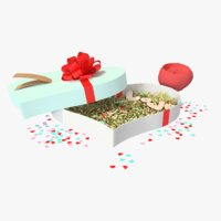 St Valentines day gift box