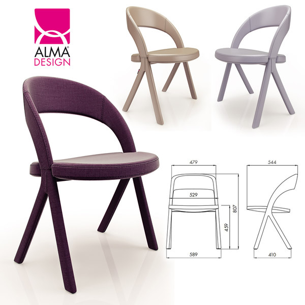 alma design gesto 3D model