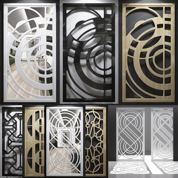screen decorative 3D model