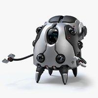 3D robot assistant model