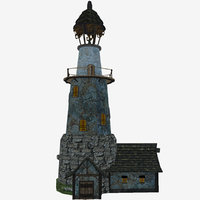 lighthouse mobile 3D model