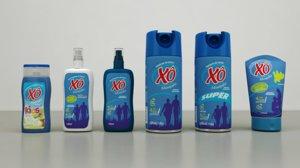 aerosol packaging cream pack 3D model
