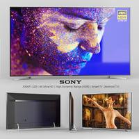 3D sony x900f 49 55 model