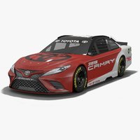generic toyota camry nascar 3D model