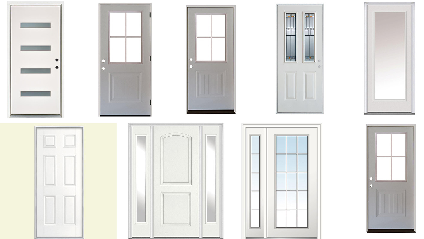 3D doors collections