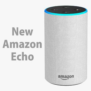 3D amazon echo new