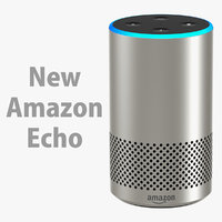 3D amazon echo new model